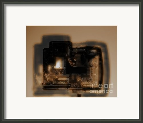 Behind The Lens  Framed Print By Steven  Digman