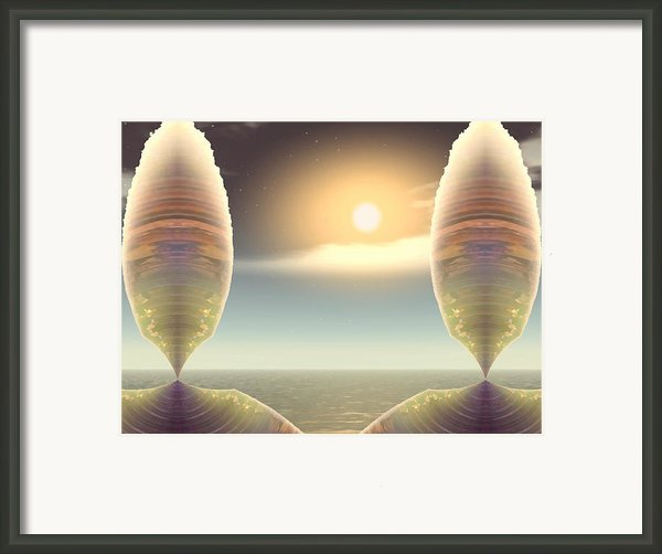 Being There Framed Print By Wendy J St Christopher