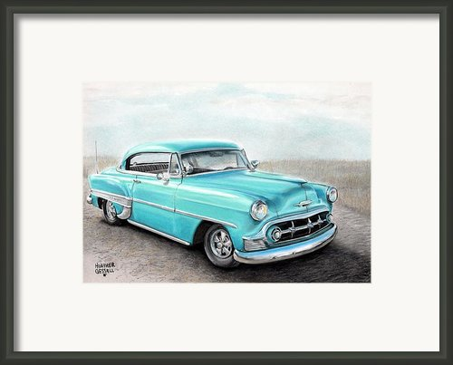 Bel Air Framed Print By Heather Gessell