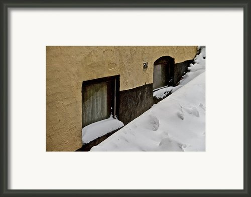 Below Zero Framed Print By Odd Jeppesen