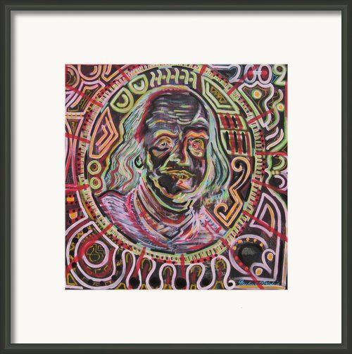 Ben Franklin Framed Print By Michael Kulick