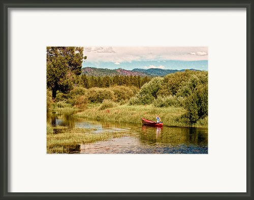 Bend/sunriver Thousand Trails Framed Print By Nadine And Bob Johnston