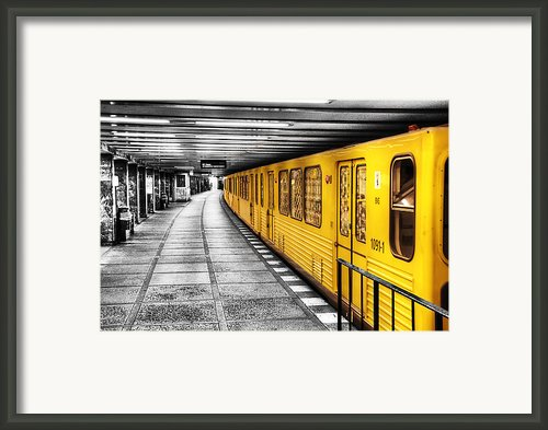 Berlin Bahnhof Framed Print By Ryan Wyckoff