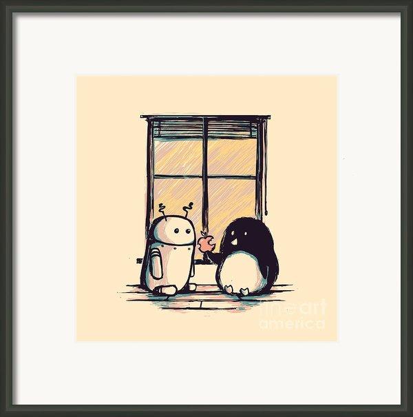 Best Friends Framed Print By Budi Satria Kwan