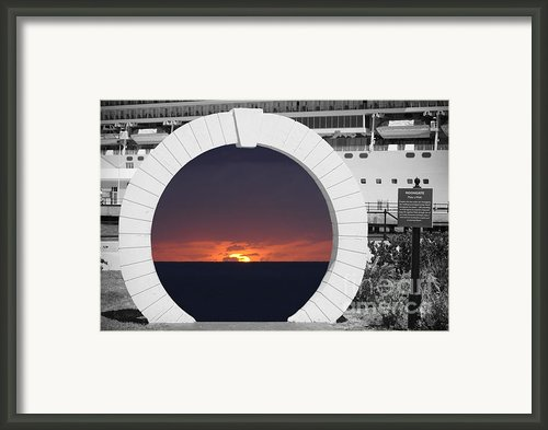Best Wishes Framed Print By Luke Moore