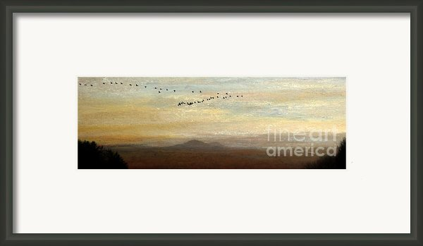 Between Sparta And Tomah 1 Framed Print By R Kyllo