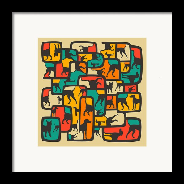 Between Worlds Framed Print By Jazzberry Blue
