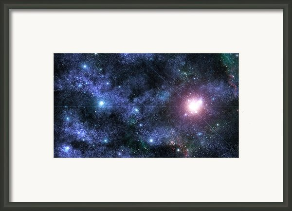 Beyond The Stars Framed Print By Jayden Bell