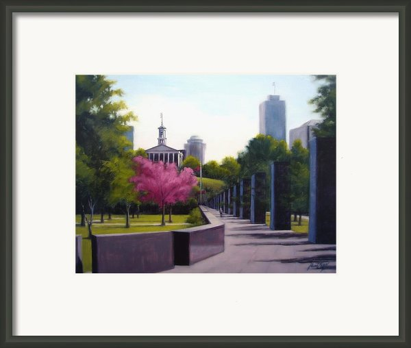 Bicentennial Capital Mall Park Framed Print By Janet King