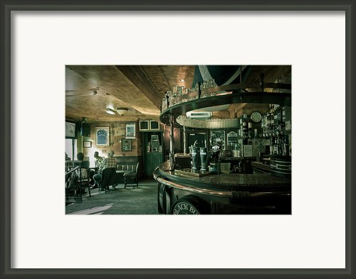 Biddy Mulligans Pub. Edinburgh. Scotland Framed Print By Jenny Rainbow