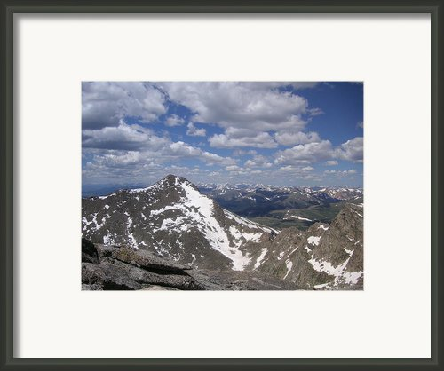 Bierstadt In Summer Framed Print By Cam  Mccord