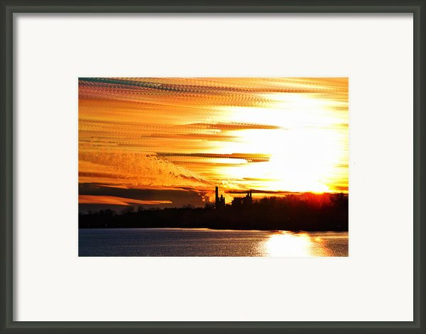 Big Ball Of Fire Framed Print By Matt Molloy