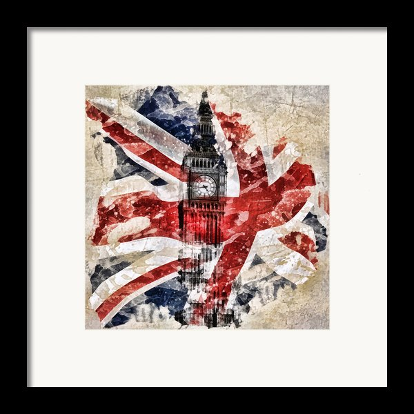 Big Ben Framed Print By Mo T