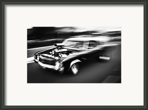 Big Block Chevelle Framed Print By Phil