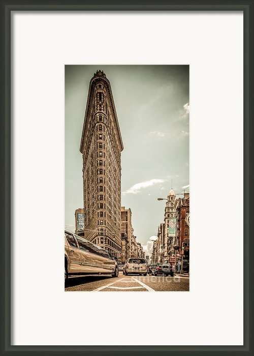 Big In The Big Apple Framed Print By Hannes Cmarits