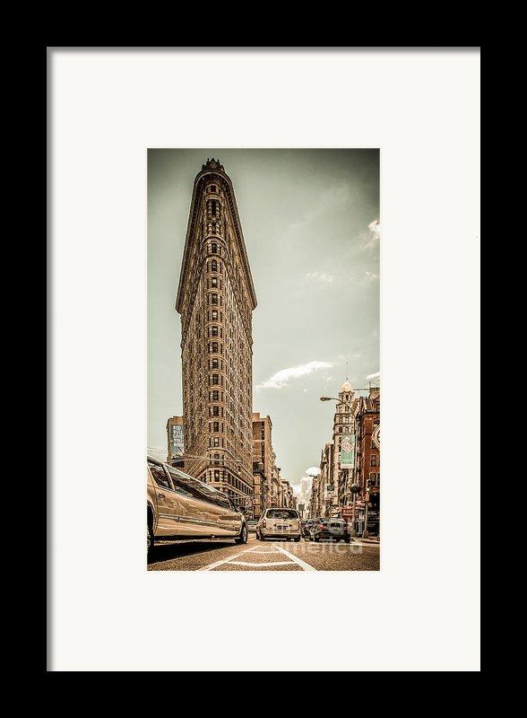 Big In The Big Apple Framed Print By Hannes Cmarits