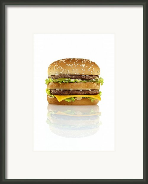 Big Mac Framed Print By Geoff George