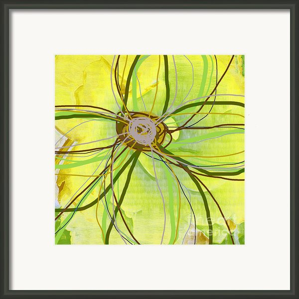Big Pop Floral Ii Framed Print By Ricki Mountain