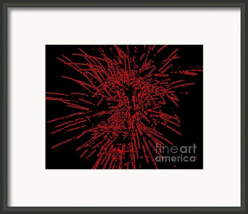 Big Red Framed Print By Shelia Kempf