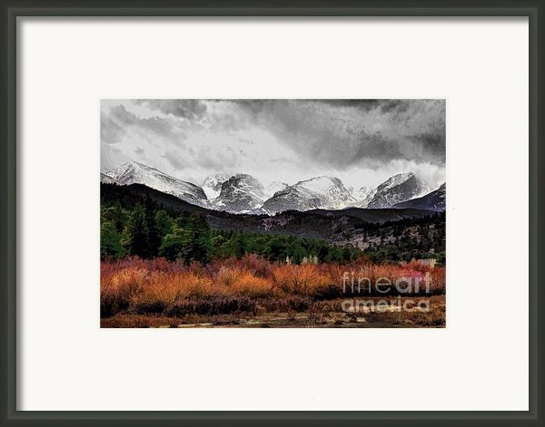 Big Storm Framed Print By Jon Burch Photography