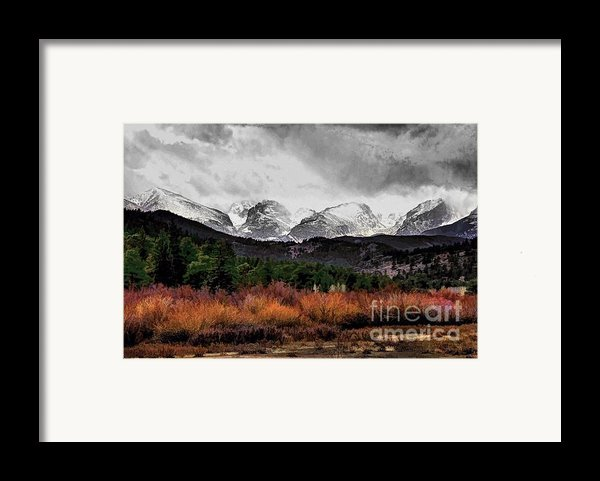 Big Storm Framed Print By Jon Burch Photography