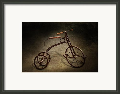 Bike - The Tricycle  Framed Print By Mike Savad