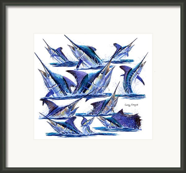 Bill Heads Framed Print By Carey Chen