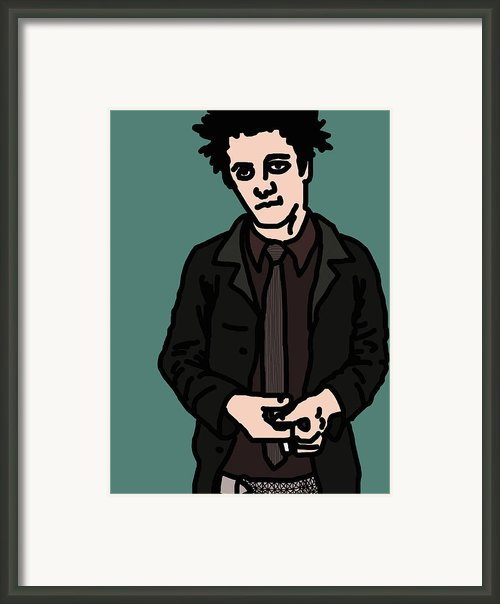Billie Joe Armstrong Framed Print By Jera Sky