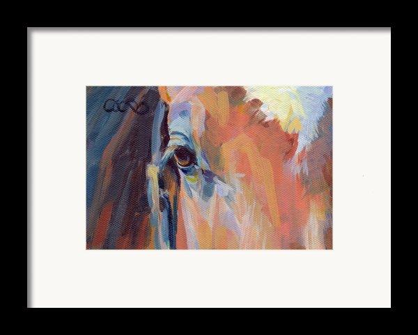 Billy Framed Print By Kimberly Santini