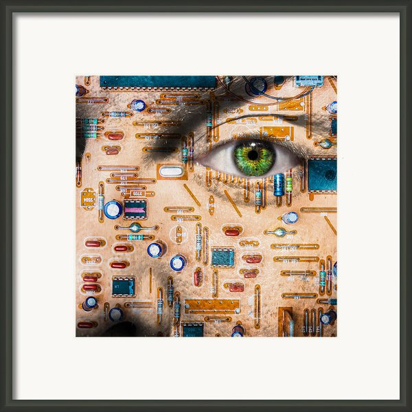 Bionic Man Framed Print By Semmick Photo