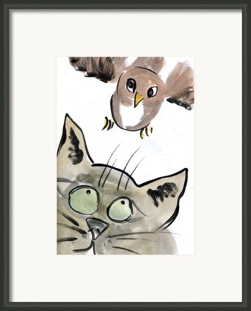 Bird Framed Print By Ellen Miffitt