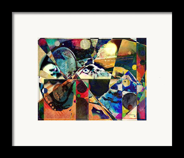 Birds And Music Framed Print By Yomamabird Rhonda
