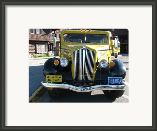 Black And Yellow Framed Print By Steven Parker