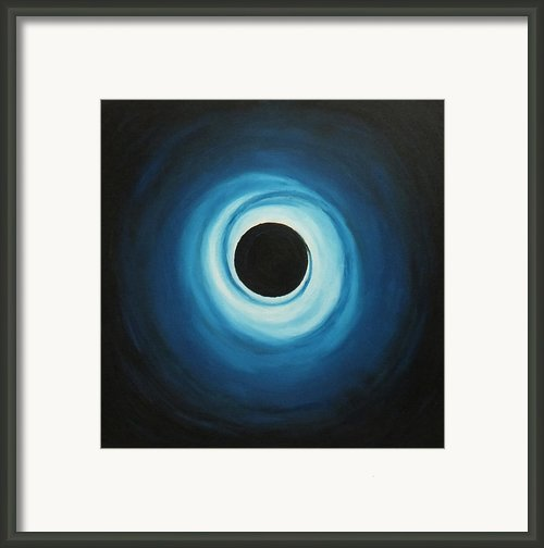 Black Hole Framed Print By Sven Fischer