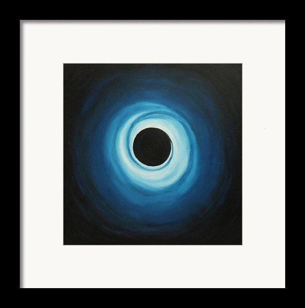 Black Hole Framed Print By Sven Fischer