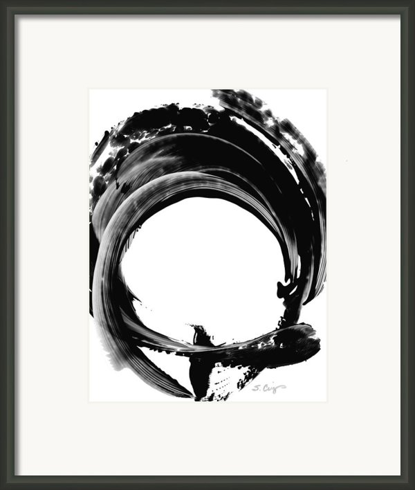 Black Magic 304 By Sharon Cummings Framed Print By Sharon Cummings