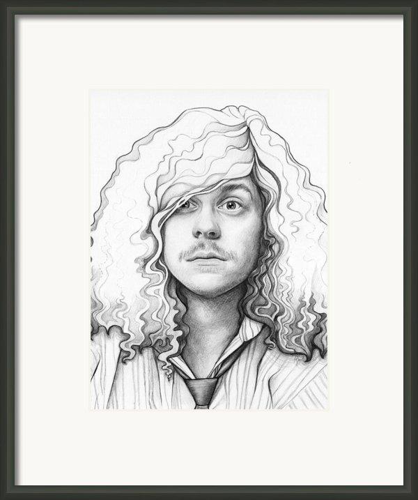 Blake - Workaholics Framed Print By Olga Shvartsur