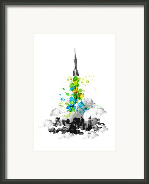 Blast Off Framed Print By Budi Satria Kwan