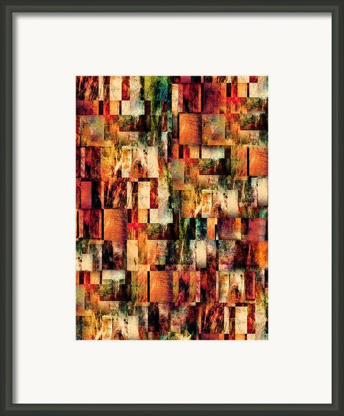 Blocks Framed Print By Paul St George