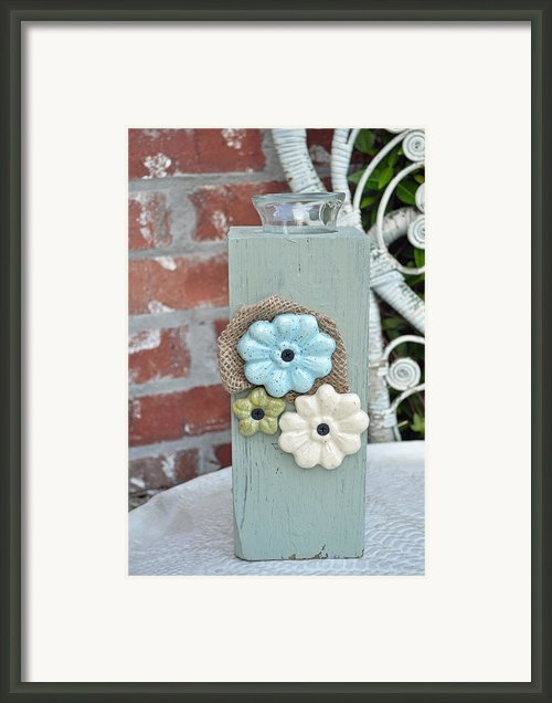 Bloomers Framed Print By Amanda  Sanford