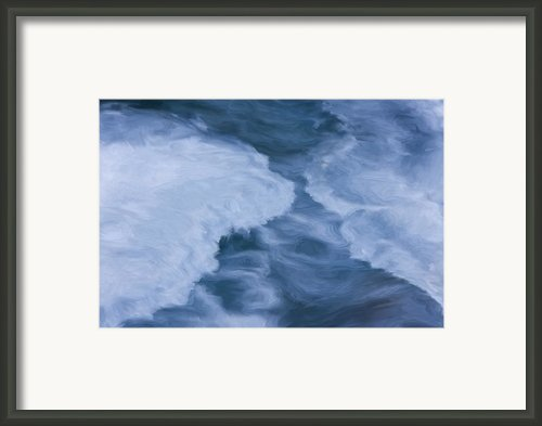Blue 3                              Framed Print By Jack Zulli