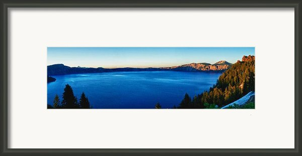 Blue Blue Blue Framed Print By Rob Wilson