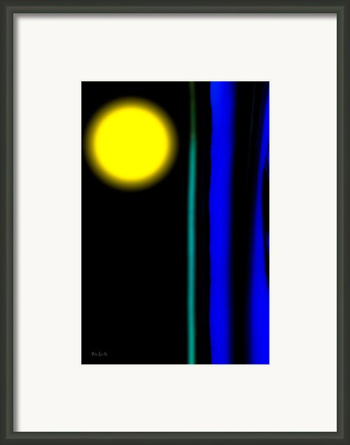 Blue Glass Framed Print By Bob Orsillo
