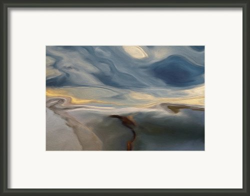 Blue Framed Print By Jack Zulli