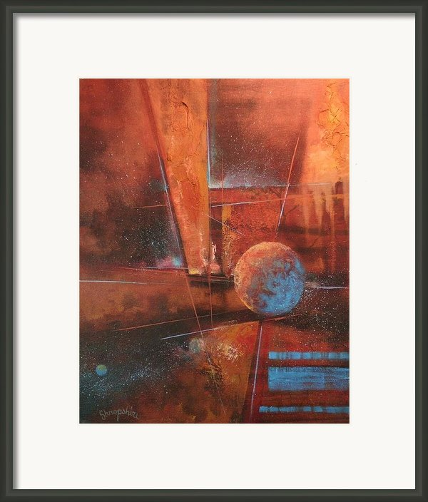 Blue Planet Framed Print By Tom Shropshire