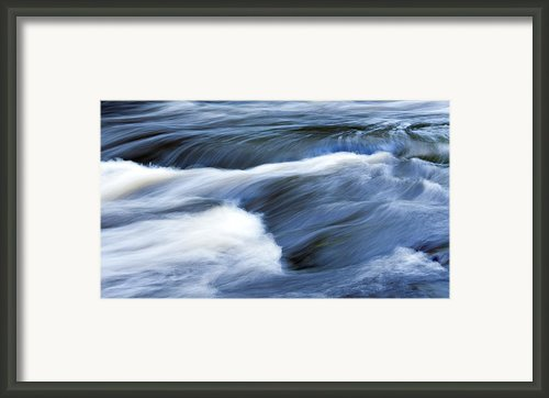 Blue Waltz Framed Print By Glenn Gordon