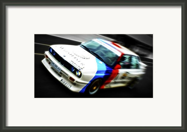 Bmw E30 M3 Racer Framed Print By Phil