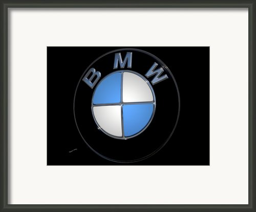 Bmw Emblem Framed Print By Digiart Diaries By Vicky Browning
