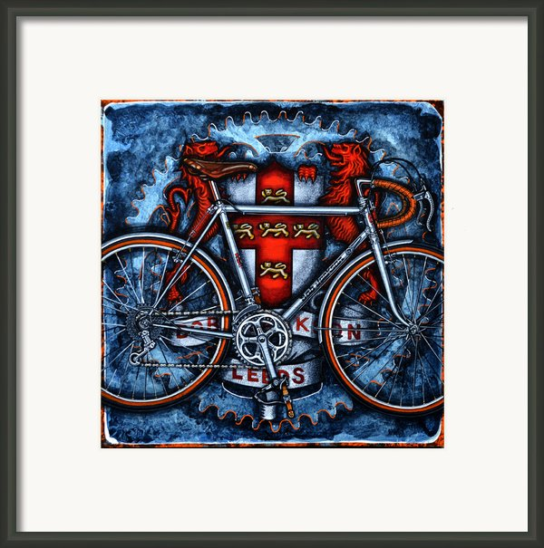 Bob Jackson Framed Print By Mark Howard Jones