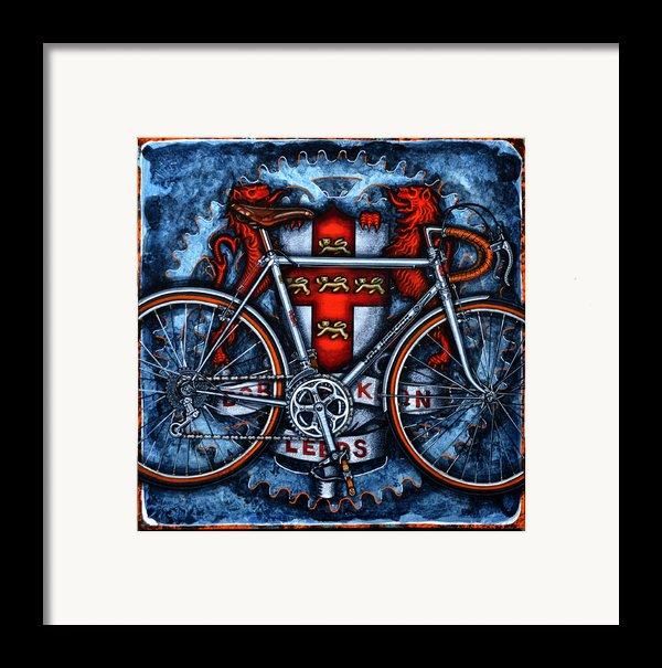 Bob Jackson Framed Print By Mark Howard Jones